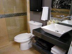small bathroom sink decor