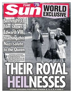 Choice and Truth: Russell Brand Calls The Queen By Her REAL Family Name And The Media Goes Crazy!