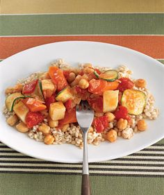 Use your slow-cooker to prepare stews, lasagnas, enchiladas, and more hearty, vegetarian meals.