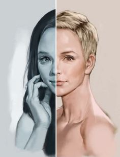 A Speed-Painting Video Elegantly Shows The Life Of A Woman From Birth To Death