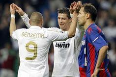 El Madrid, a cuartos con pleno de delanteros