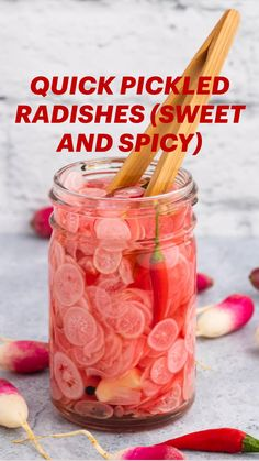 Summer Recipes, Holiday Recipes, Recipes Dinner, Easy Recipes, Healthy Recipes, Quick Pickled Radishes, Dips, Fermented Foods, Canning Recipes