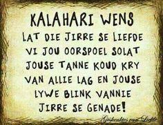 Kalahari wens