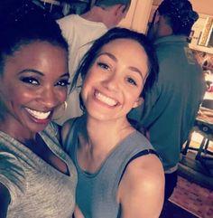Shanola and Emmy