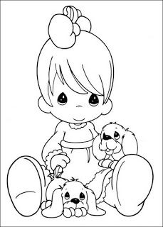 coloring page Precious moments on Kids-n-Fun. Coloring pages of Precious moments on Kids-n-Fun. More than coloring pages. At Kids-n-Fun you will always find the nicest coloring pages first! Puppy Coloring Pages, Free Coloring Sheets, Coloring Pages For Girls, Coloring Book Pages, Printable Coloring Pages, Coloring For Kids, Precious Moments Coloring Pages, Digi Stamps, Copic