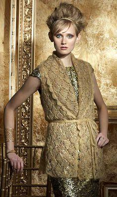 Ravelry: #16 Wrap Vest pattern by Laura Zukaite