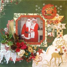 Mr. and Mrs. Santa Claus - Scrapbook.com