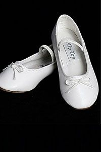 Flower Girl Dresses -Little Girls and Big Girls Size Ballet Shoes- Style S27