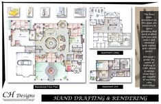 CH Designs Interior Design Portfolio by Carey Howerton, via Behance - Design Portfolio Interior Design Layout, Interior Design Programs, Interior Design Portfolios, Interior Design Boards, Interior Design Business, Interior Doors, Interior Sketch, Interior Designing, Portfolio Design Layouts