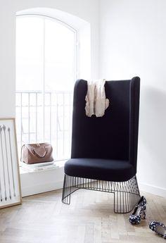 // High Chair by soren rose studio