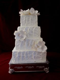 Google Image Result for http://thetwistedsifter.files.wordpress.com/2011/08/magnolia-ivory-textured-wedding-cake.jpg
