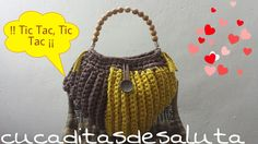 Bolso de Trapillo /Forma Corazón !! Efectos Surcos ¡¡ - Handbag of Heab ...