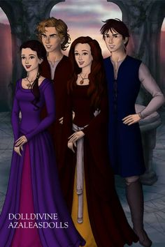 Peter, Edmund, Susan, and Lucy