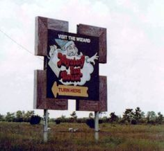 Mystery Fun House sign