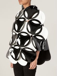 Artistic Fashion with large applique shapes; experimental fashion design // Junya Watanabe Comme des Garcons