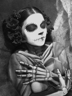 Dia de Los Muertos...so simple but very beautiful》♡♡♡