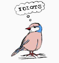 Illustration - Idiots - Bea Dietz Collage, My Friend, Friends, Illustration, Animals, Art, Sketches, Painting Art, Amigos