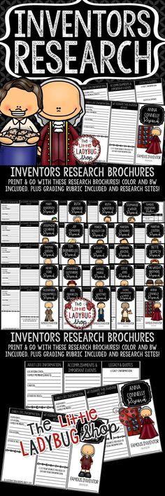 Inventors research a