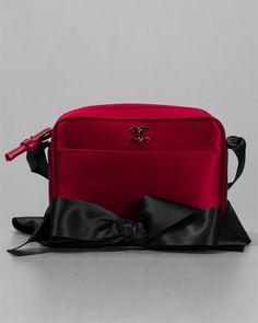 Chanel Red Satin Bow Strap Evening Bag  http://fashionbagarea.blogspot.com/  #chanel #handbags #bags #fashion women chnael 2015 bags are under $159