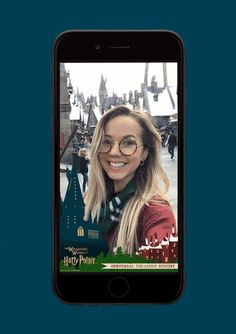 Fans of The Wizarding World of Harry Potter will love this new Snapchat Geofilter designed by MinaLima - available only at The Wizarding World of Harry Potter - Hogsmeade at Universal's Islands of Adventure! Find it on your mobile phone and the Snapchat app on your next vacation. Universal Studios, Snapchat, Islands, Harry Potter, Fans, Adventure, Vacation, Phone, World