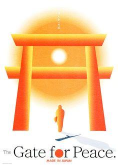 JAPAN POSTER design by kazuhiro sakamaki
