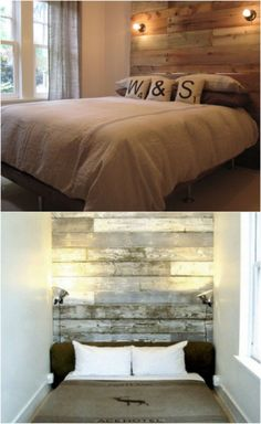 Frame with Wooden Headboard