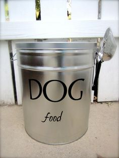 Hey, I found this really awesome Etsy listing at http://www.etsy.com/listing/104476972/pet-food-storage-tin