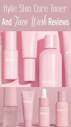 Kylie Cosmetics Net Worth - Kylie Jenner's skincare series, Kylie Skin, is almost sold out online inspite of some pretty substantial T. Drugstore Skincare, Best Skincare Products, Best Face Products, Best Facial Wash, Facial Care, Kylie Makeup, Face Care Routine, Toner For Face, Kylie Cosmetic