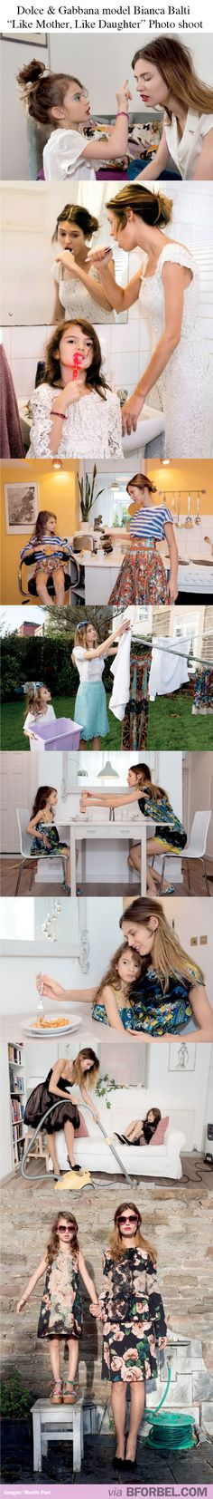 Mother and Daughter wearing the same outfits. Adorable!