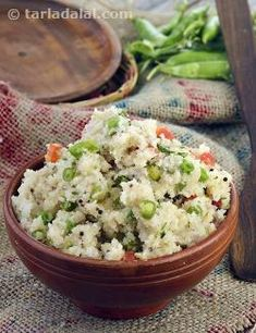 Vegetable Upma is an all-time favourite breakfast or snack that is enjoyed all over India and across the world too, because if its convenience, sumptuousness and enjoyable flavour. This Upma is basically made of semolina cooked with a traditional tempering and an assortment of veggies, which lend their beautiful colours, textures and flavours to the semolina, transforming it into an exciting treat for the palate. What makes the Vegetable Upma such a great hit is the fact this it does not…