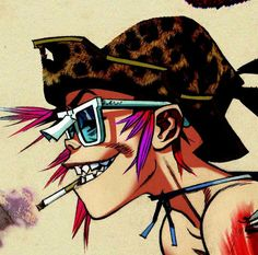 You already know Jamie Hewlett's artwork by his illustrations for Gorillaz. How about seeing more of his psychedelic world at the Saatchi Gallery? >> http://www.saatchigallery.com/