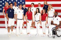 US Olympic Team 2012 uniforms