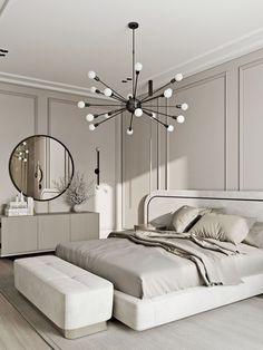 Room Ideas Bedroom, Home Bedroom, Modern Bedroom, Zen Bedroom Decor, Luxury Kids Bedroom, Neutral Bedrooms, Luxury Bedroom Design, Bedroom Signs, Girl Bedroom Designs