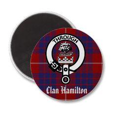 Clan Hamilton Fridge Magnet: Eventual tattoo. Placement?