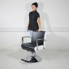 RETRO STYLISH BARBERS CHAIR SALON BEAUTY HAIR DRESSER CUT  | eBay