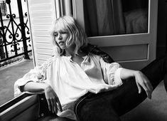 Hana Jirickova Gets 70s Glam for Hunkydory Fall 2014 Campaign Photographer - Camilla Akrans.  Stylist - Lisa Lindqwister