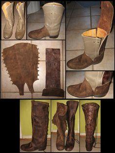 Boots-WIP by StellarReverie on deviantART