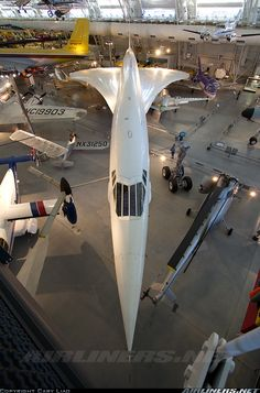 Preserved at the National Air and Space Museum. - Photo taken at Washington - Dulles International (IAD / KIAD) in Virginia, USA on March Tupolev Tu 144, Luxury Jets, All Airlines, Airplane Art, Airline Travel, Air And Space Museum, Military Jets, Commercial Aircraft, Civil Aviation