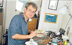 Gruffer than the rest: children's book illustrator Axel Scheffler Axel Scheffler, Drawing Competition, Purple Cow, The Gruffalo, Children's Book Illustration, Book Club Books, Childrens Books, Illustrators, Studio Spaces