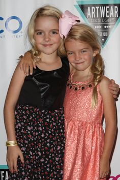 McKenna Grace, Mia Talerico attended the Red carpet Events LA Luxury Gift Style Lounge in Honor of 2014  Teen Choice Awards for Nominees and Presenters