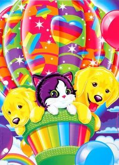 Lisa Frank! I was obsessed!!