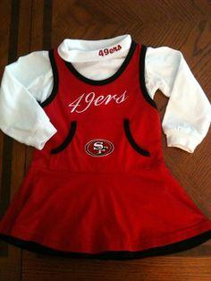 Infant 49Ers Dress - Size 18 Months
