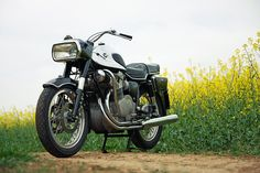 Throughout the MV Agusta community, the 600 is affectionately known as 'The Black Pig'. It's one of the ugliest bikes ever made, but perhaps so ugly that it transcends style and fashion. Only 127 were built, between 1967 and the early 1970s, and this one is #11