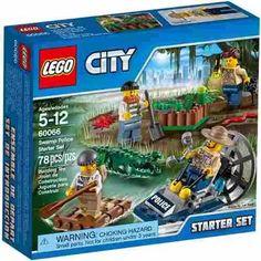 Lego City 60066 Policia Del Pantano Bunny Toys - $ 599,99