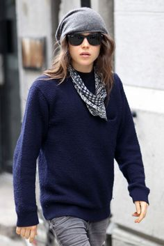 Ellen Page has incredible fashion sense <3 casual day in the life
