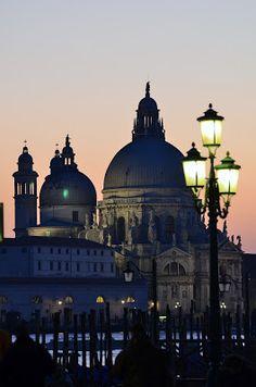 Basilica di Santa Maria della Salute, view from San Marco square. http://www.rentalbikeitaly.com