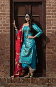 HappyShappy - India's Own Social Commerce Platform Silk Kurti Designs, Salwar Designs, Kurta Designs Women, Kurti Designs Party Wear, Dress Indian Style, Indian Fashion Dresses, Indian Outfits, Punjabi Fashion, Salwar Kurta