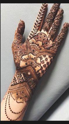 Mehndi Designs Front Hand, Rose Mehndi Designs, Henna Tattoo Designs Simple, Stylish Mehndi Designs, Mehndi Designs 2018, Henna Art Designs, Mehndi Designs For Girls, Mehndi Designs For Beginners, Mehndi Design Photos