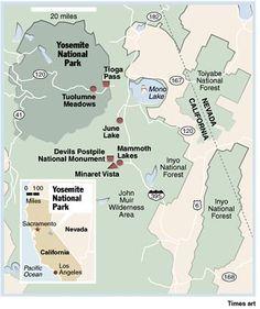 Devil's Postpile National Monument.