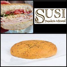 La focaccia es un pan italiano blando muy aromático, está recubierto con orégano y sal se mar. Sin grasas Trans ni azúcar, #PanaderíaSusi te lo recomienda para tus comidas y tus sándwiches.